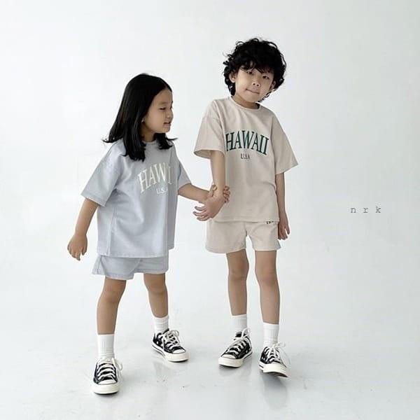 NRK - Korean Children Fashion - #Kfashion4kids - Hawaii Top Bottom Set