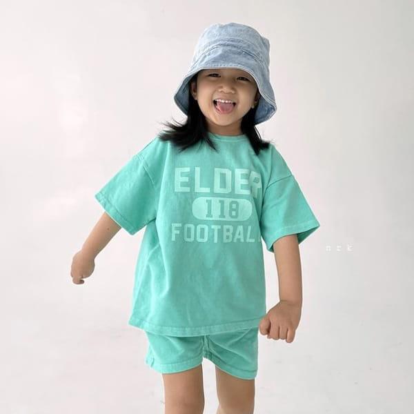 NRK - Korean Children Fashion - #Kfashion4kids - Pigment Top Bottom Set