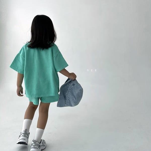 NRK - Korean Children Fashion - #Kfashion4kids - Pigment Top Bottom Set - 10