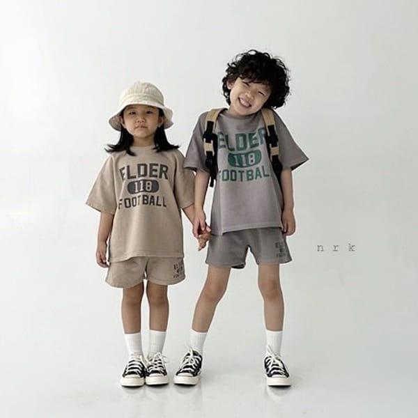 NRK - Korean Children Fashion - #Kfashion4kids - Pigment Top Bottom Set - 4