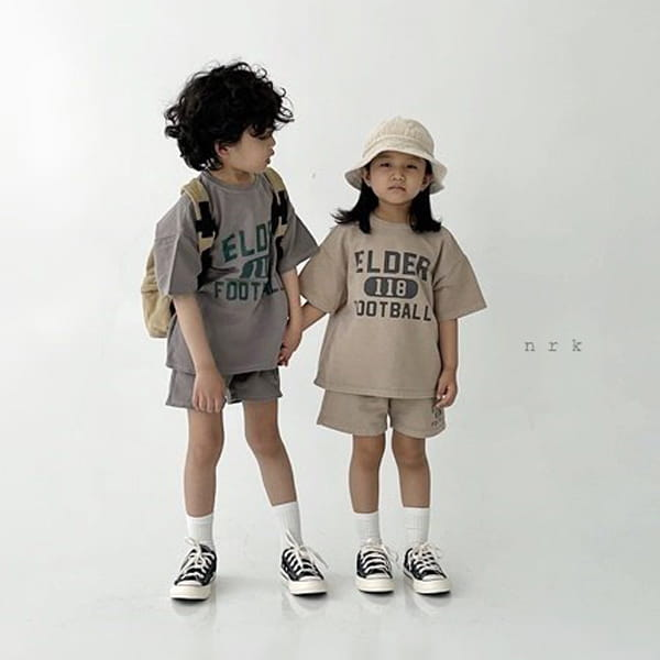 NRK - Korean Children Fashion - #Kfashion4kids - Pigment Top Bottom Set - 5