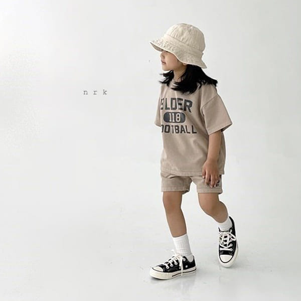 NRK - Korean Children Fashion - #Kfashion4kids - Pigment Top Bottom Set - 6