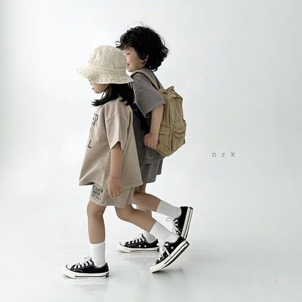 NRK - Korean Children Fashion - #Kfashion4kids - Pigment Top Bottom Set - 7