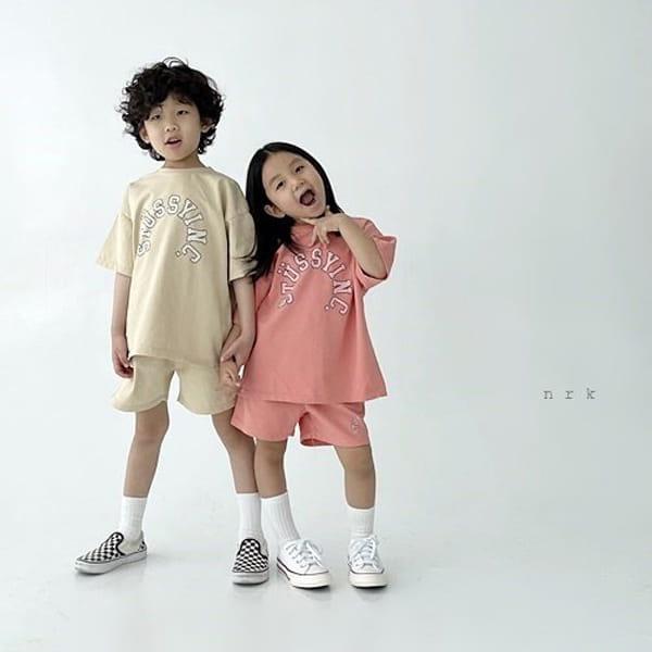 NRK - Korean Children Fashion - #Kfashion4kids - Tok Tok Top Bottom Set