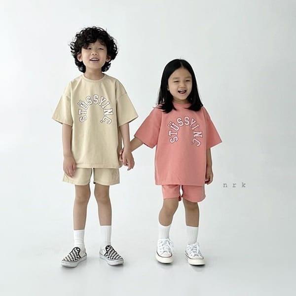 NRK - Korean Children Fashion - #Kfashion4kids - Tok Tok Top Bottom Set - 3