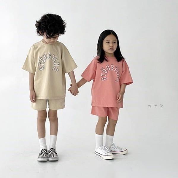 NRK - Korean Children Fashion - #Kfashion4kids - Tok Tok Top Bottom Set - 4