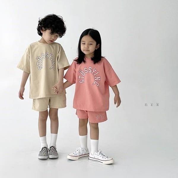 NRK - Korean Children Fashion - #Kfashion4kids - Tok Tok Top Bottom Set - 5