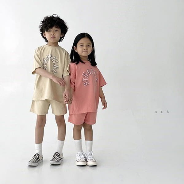 NRK - Korean Children Fashion - #Kfashion4kids - Tok Tok Top Bottom Set - 6