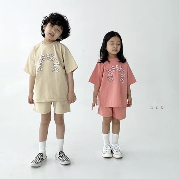 NRK - Korean Children Fashion - #Kfashion4kids - Tok Tok Top Bottom Set - 7