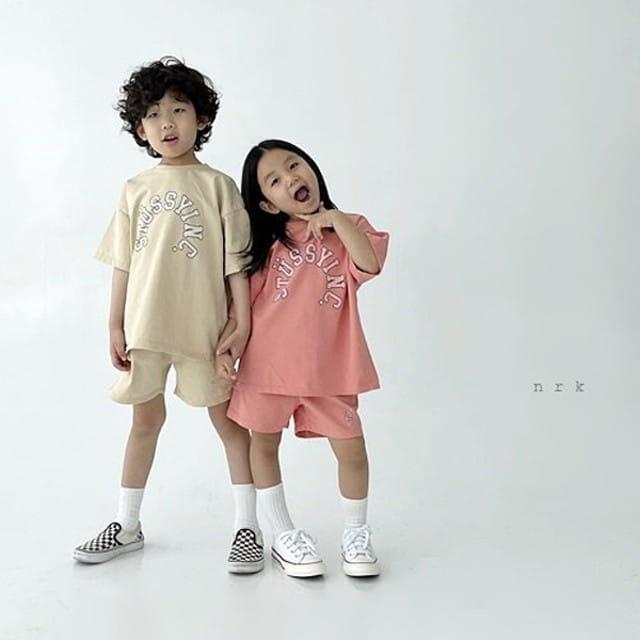 NRK - BRAND - Korean Children Fashion - #Kfashion4kids - Tok Tok Top Bottom Set