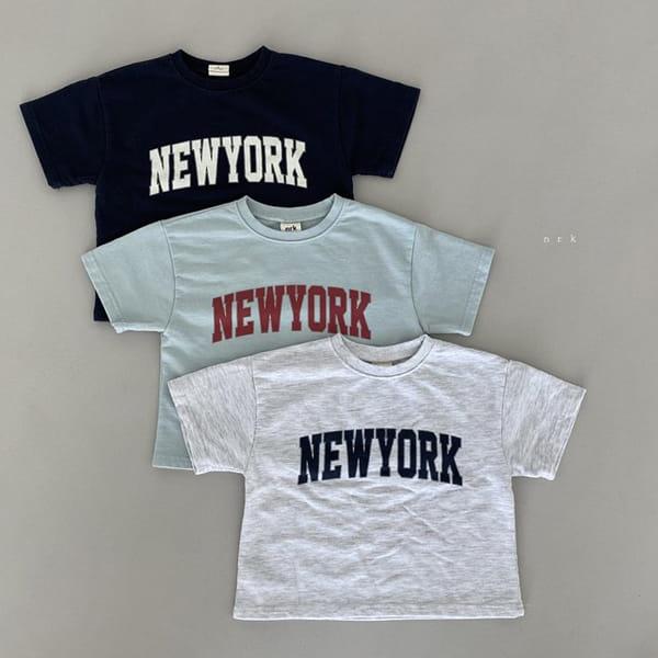 NRK - Korean Children Fashion - #Kfashion4kids - Cool New York Top Bottom Set - 7