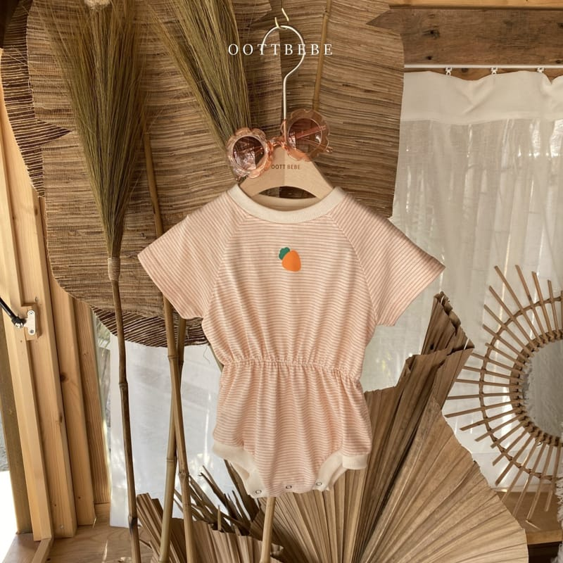 OOTT BEBE - Korean Children Fashion - #Kfashion4kids - Fruit Bodysuit - 12