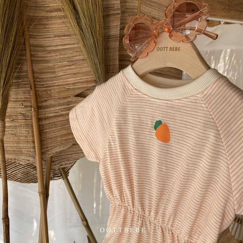 OOTT BEBE - Korean Children Fashion - #Kfashion4kids - Fruit Bodysuit - 2