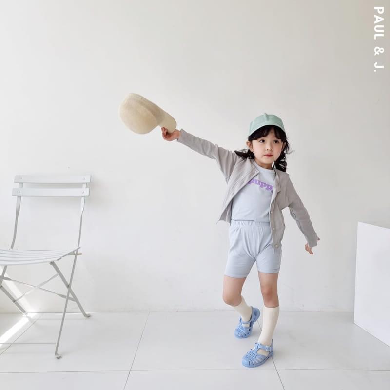 PAUL & J - Korean Children Fashion - #Kfashion4kids - Puppy Top Bottom Set - 9