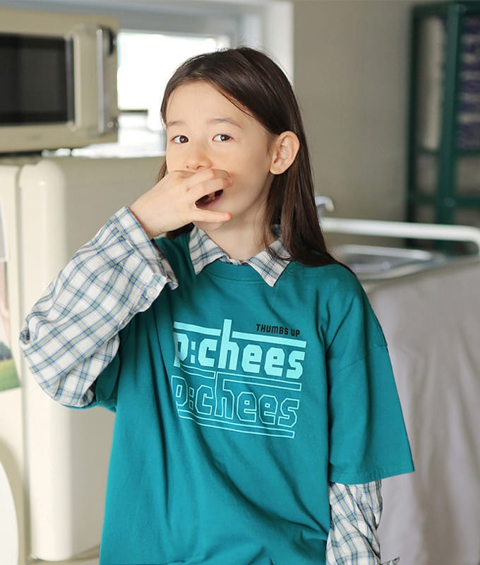 PEACH-CREAM - BRAND - Korean Children Fashion - #Kfashion4kids - Mannheim Tee
