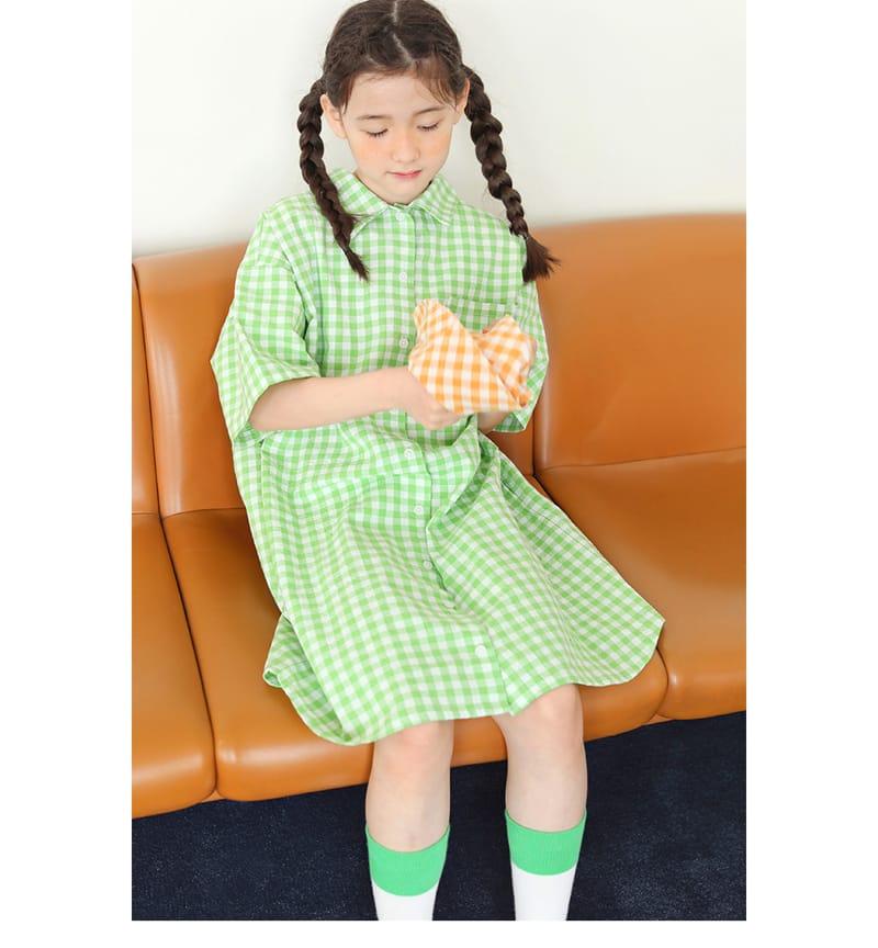 PEACH-CREAM - Korean Children Fashion - #Kfashion4kids - Leszno One-piece