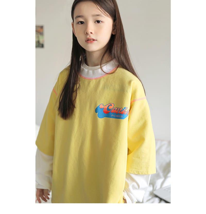 PEACH-CREAM - Korean Children Fashion - #Kfashion4kids - Peine Tee