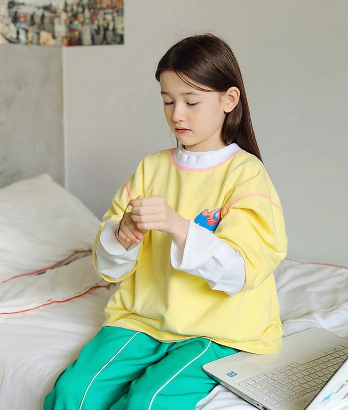 PEACH-CREAM - BRAND - Korean Children Fashion - #Kfashion4kids - Peine Tee