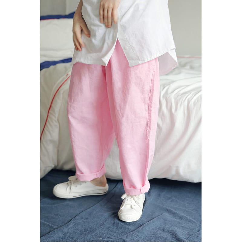 PEACH-CREAM - Korean Children Fashion - #Kfashion4kids - Munster Pants