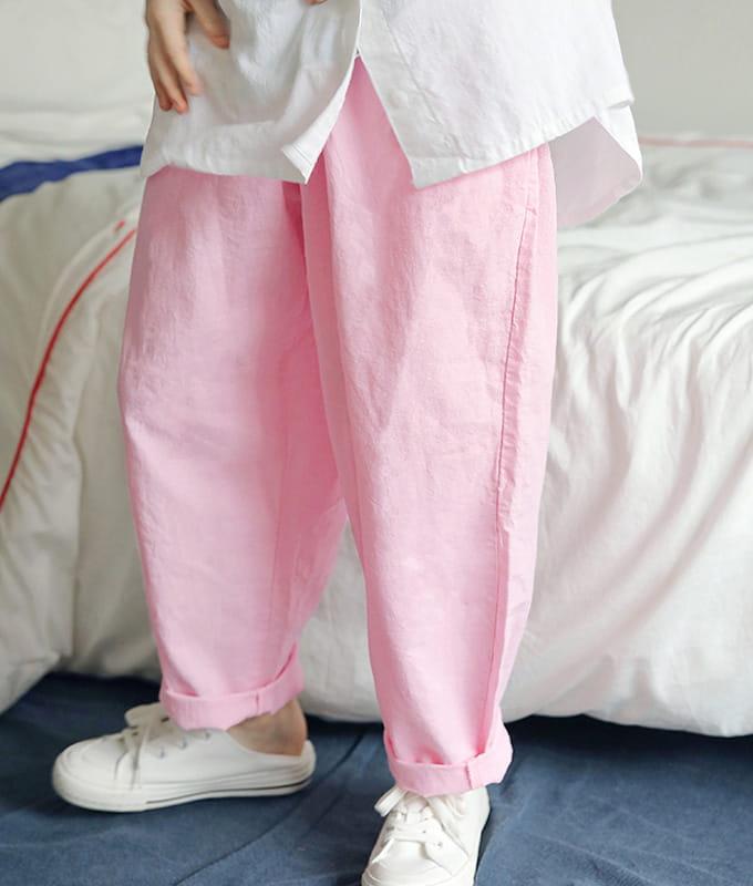 PEACH-CREAM - BRAND - Korean Children Fashion - #Kfashion4kids - Munster Pants