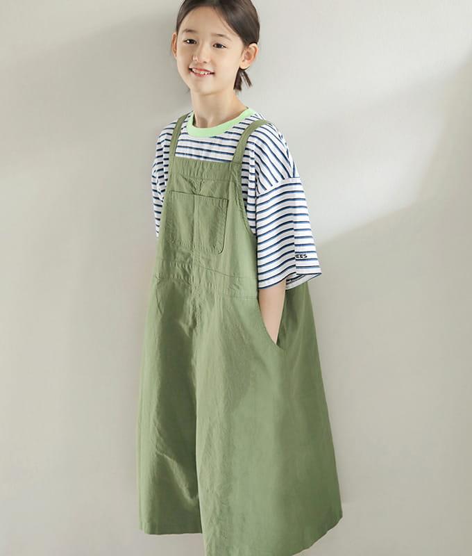 PEACH-CREAM - BRAND - Korean Children Fashion - #Kfashion4kids - Monopoly One-piece