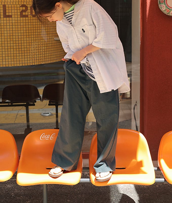 PEACH-CREAM - BRAND - Korean Children Fashion - #Kfashion4kids - Taranto Pants