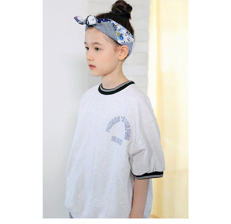 PEACH-CREAM - Korean Children Fashion - #Kfashion4kids - Hamelin Short Sleeves Sweatshirt