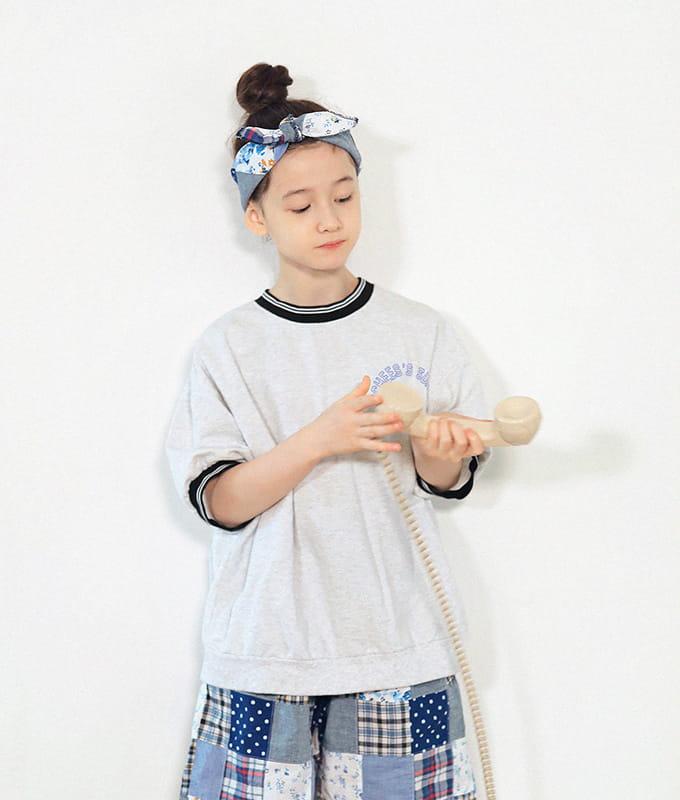 PEACH-CREAM - BRAND - Korean Children Fashion - #Kfashion4kids - Hamelin Short Sleeves Sweatshirt