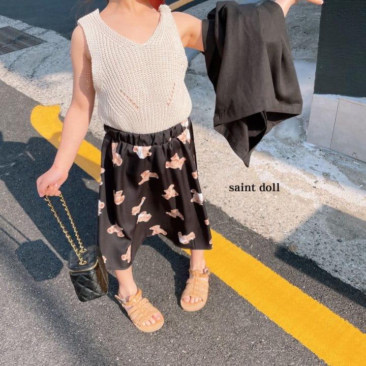 SAINT DOLL - Korean Children Fashion - #Kfashion4kids - Mom Bear Long Skirt - 10