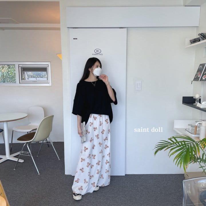 SAINT DOLL - Korean Children Fashion - #Kfashion4kids - Mom Bear Long Skirt - 5