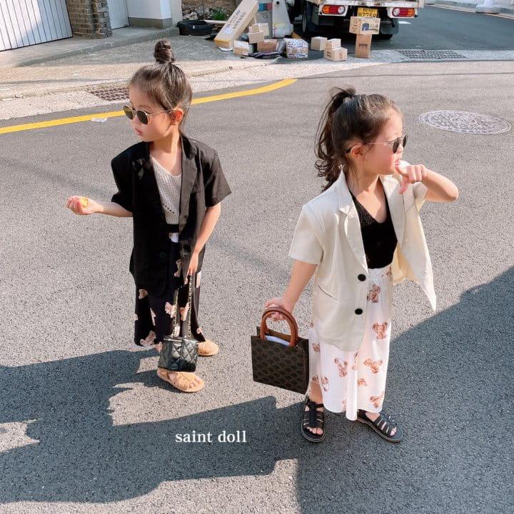 SAINT DOLL - Korean Children Fashion - #Kfashion4kids - Mom Bear Long Skirt - 7