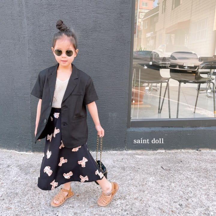 SAINT DOLL - Korean Children Fashion - #Kfashion4kids - Mom Bear Long Skirt - 9