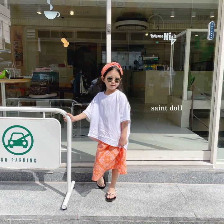 SAINT DOLL - Korean Children Fashion - #Kfashion4kids - Mom Paisley Skirt - 10