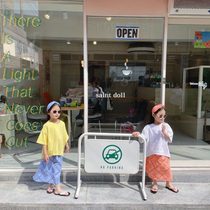 SAINT DOLL - Korean Children Fashion - #Kfashion4kids - Mom Paisley Skirt - 11