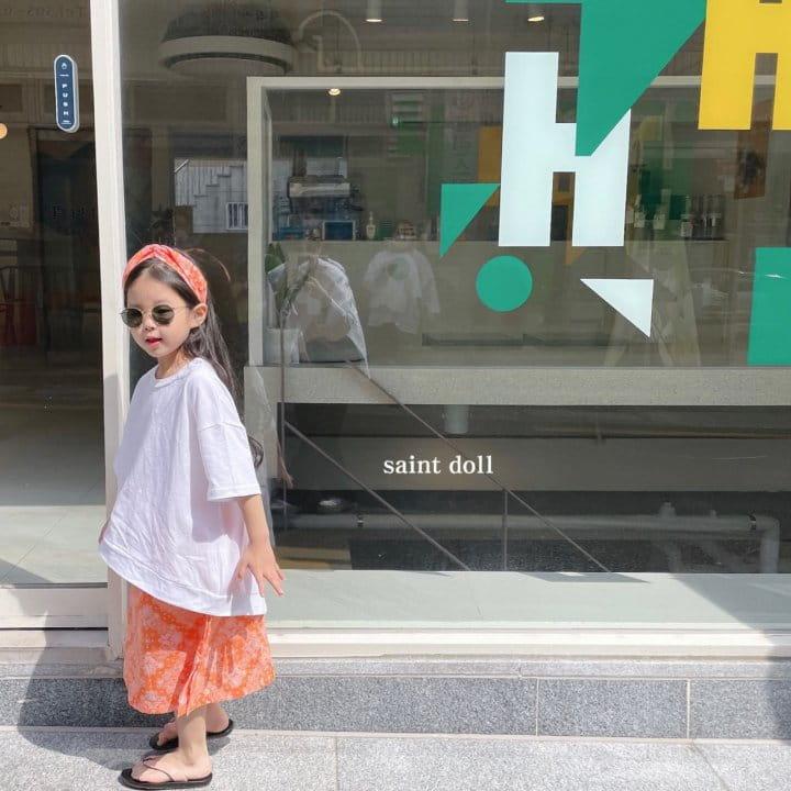 SAINT DOLL - Korean Children Fashion - #Kfashion4kids - Mom Paisley Skirt - 12