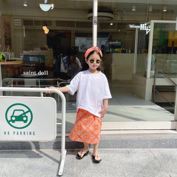 SAINT DOLL - Korean Children Fashion - #Kfashion4kids - Mom Paisley Skirt - 2