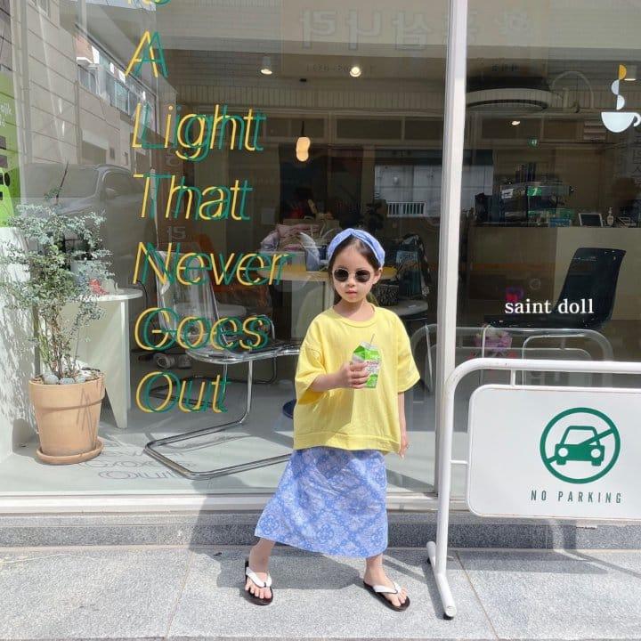 SAINT DOLL - Korean Children Fashion - #Kfashion4kids - Mom Paisley Skirt - 3
