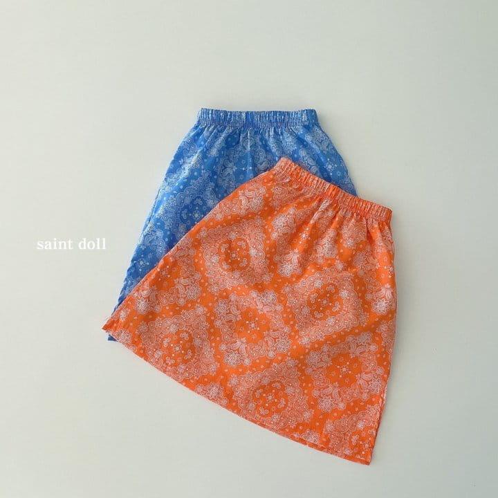 SAINT DOLL - Korean Children Fashion - #Kfashion4kids - Mom Paisley Skirt - 4