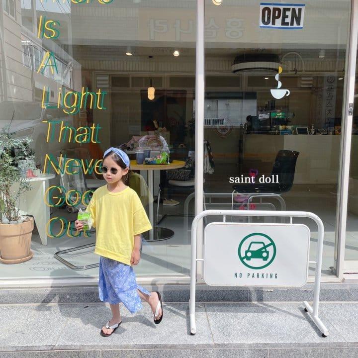 SAINT DOLL - Korean Children Fashion - #Kfashion4kids - Mom Paisley Skirt - 5