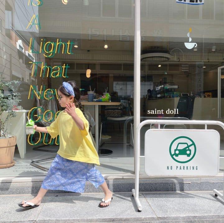 SAINT DOLL - Korean Children Fashion - #Kfashion4kids - Mom Paisley Skirt - 6