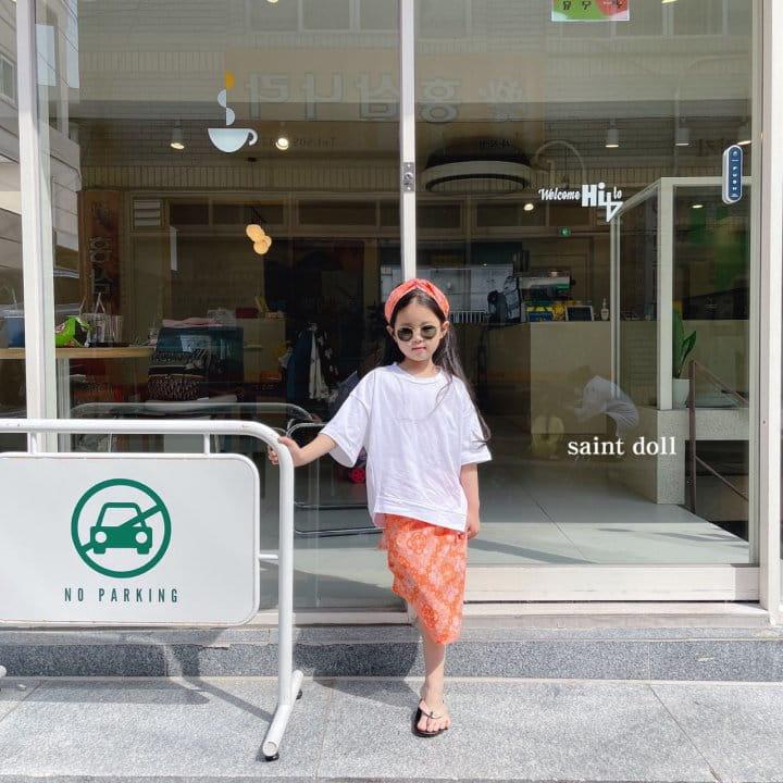 SAINT DOLL - Korean Children Fashion - #Kfashion4kids - Mom Paisley Skirt - 7