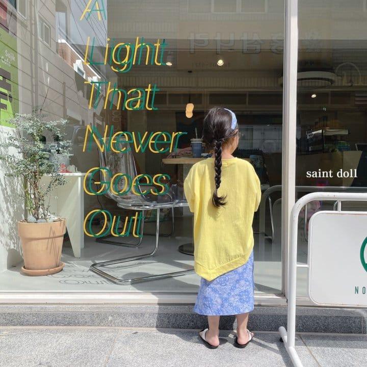 SAINT DOLL - Korean Children Fashion - #Kfashion4kids - Mom Paisley Skirt - 8