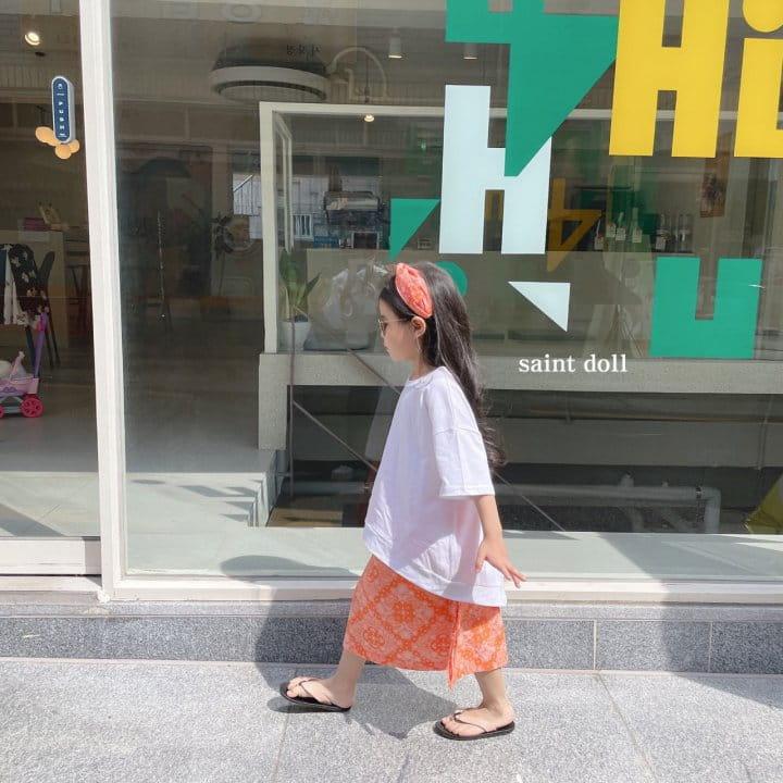 SAINT DOLL - Korean Children Fashion - #Kfashion4kids - Mom Paisley Skirt - 9