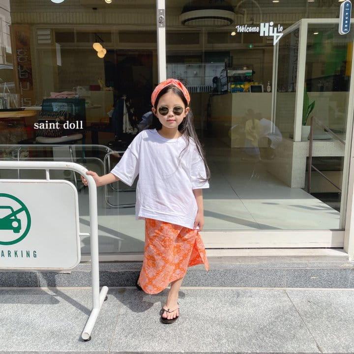 SAINT DOLL - BRAND - Korean Children Fashion - #Kfashion4kids - Mom Paisley Skirt