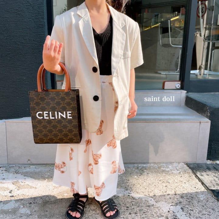 SAINT DOLL - Korean Children Fashion - #Kfashion4kids - Mom Summer Pad Jacket - 10