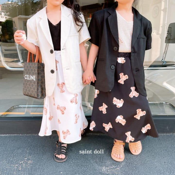 SAINT DOLL - Korean Children Fashion - #Kfashion4kids - Mom Summer Pad Jacket - 4