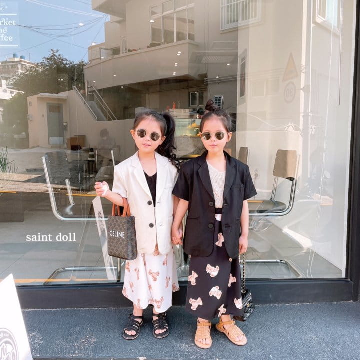 SAINT DOLL - Korean Children Fashion - #Kfashion4kids - Mom Summer Pad Jacket - 5