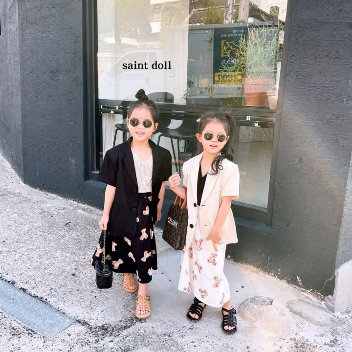SAINT DOLL - Korean Children Fashion - #Kfashion4kids - Mom Summer Pad Jacket - 7