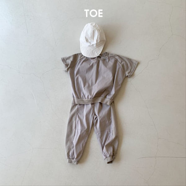 TOE - Korean Children Fashion - #Kfashion4kids - Joy Slit Jogger Pants - 4