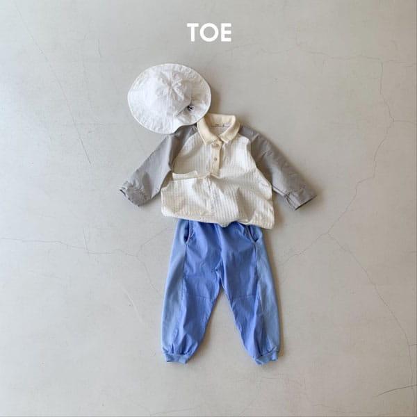 TOE - Korean Children Fashion - #Kfashion4kids - Joy Slit Jogger Pants - 5